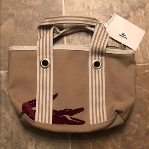 Lacoste Tote Bag Brand New with Tags!